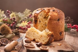 Panettone, an Italian sweetbread, is widely served in Italy during the Christmas season. (Image-123stockphoto.com)