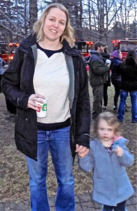 Kristin Puopolo with her daughter Stella, 3.