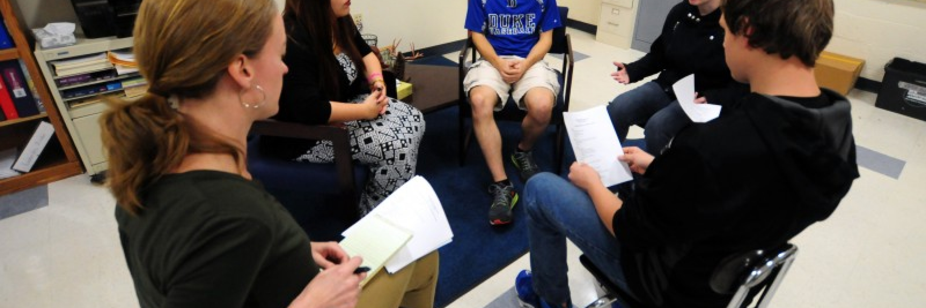 Restorative Justice Conferencing training with Advoz, Photo credit: Jim Vaiknoras - The Hechinger Report