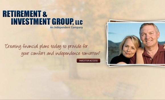 Retirement & Investment Group main page