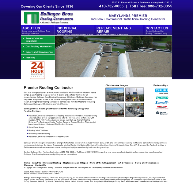 Page Roofing Copyright