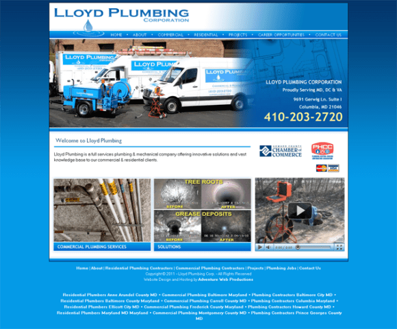 Residential & Commecial Plumbing - LLoyd Plumbing Corporation - Maryland_1305046975879