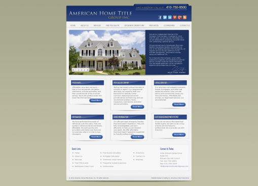 american home title group screenshot