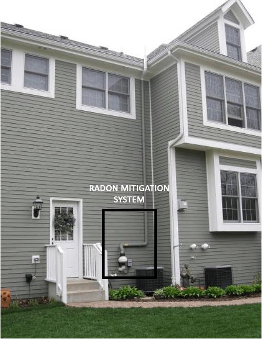 radon mitigation advanced radon testing illinois - Radon Mitigation System