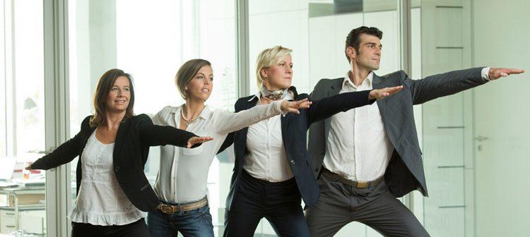 Corporate Yoga Asana