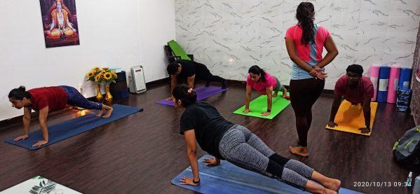 Studio Yoga Classes in new delhi India