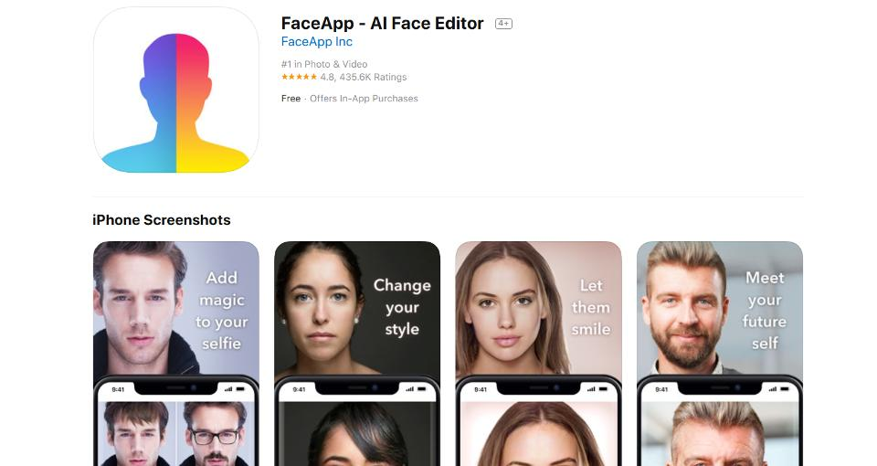 US Senator asks FBI to investigate FaceApp