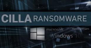 Remove CILLA Virus (+Decrypt .CILLA files) – GlobeImposter Ransomware