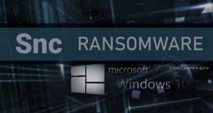 Remove Snc Virus (+Decrypt .[recoverydata52@protonmail.com].Snc files) – Lazarus Ransomware