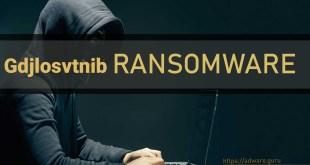 Remove Gdjlosvtnib Virus (+Decrypt .gdjlosvtnib files)