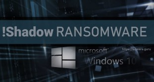 Remove !Shadow Virus (+Decrypt .!Shadow files)