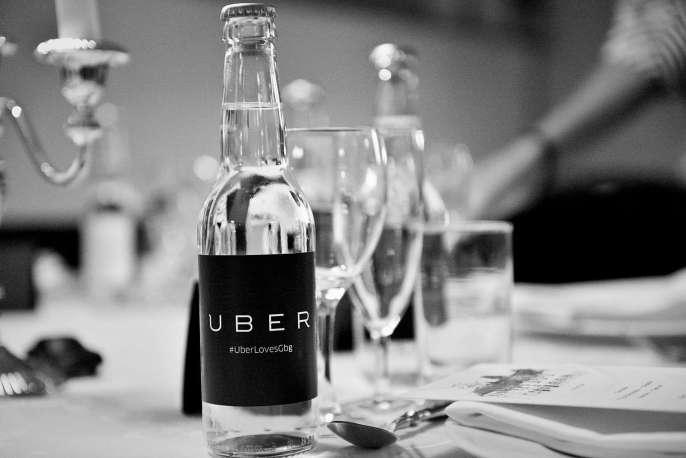 Glasflaska uber
