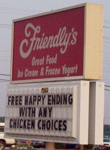 Friendly's Happy Ending