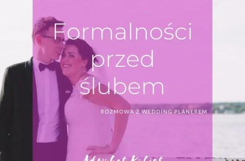 Ślub cywilny formalności