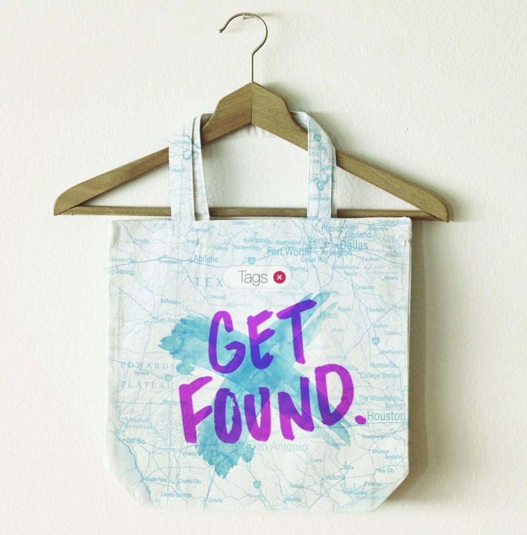 Get Found Bag Mockup