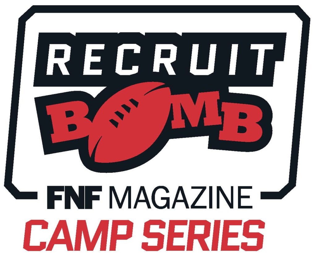 RecruitBomb FNF Camp Series logo 2C