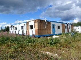 Abandoned work camp in Bigstone Cree Nation territory.