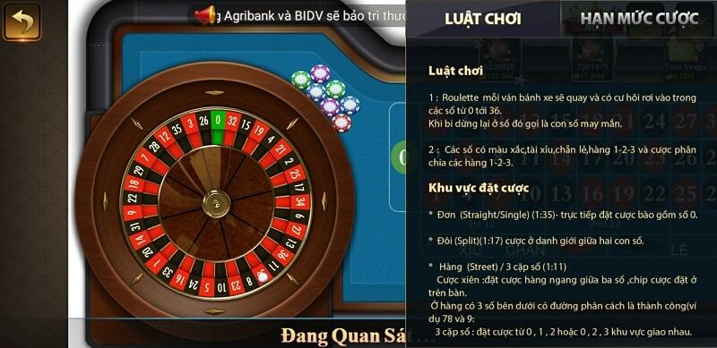 Cách chơi Roulette tại AE888