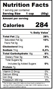 come predisporre le etichette nutrizionali per poter esportare in