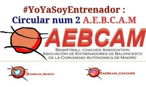 CIRCULAR Nº 2 DEL MES DE DICIEMBRE DE LA A.E.B.C.A.M.