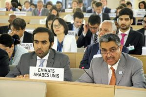 The UAE has reiterated its keenness to deal with the mechanisms of the Human Rights Council with honesty and transparency within the framework of mutual respect, constructive dialogue and fruitful cooperation