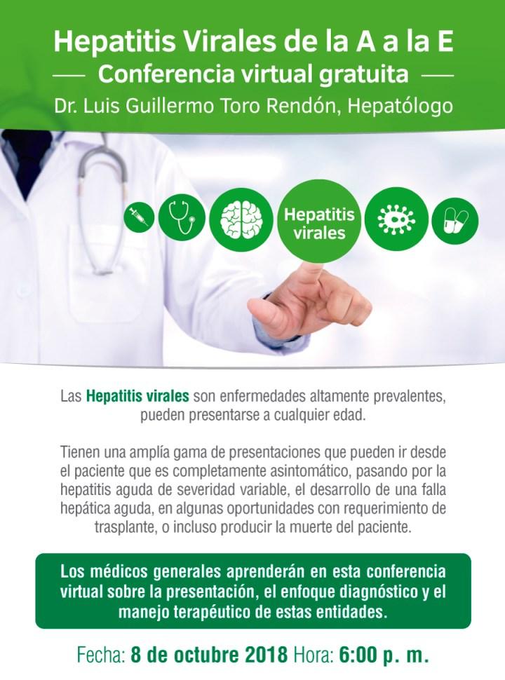 HEPATITIS VIRALES de la A a la E.
