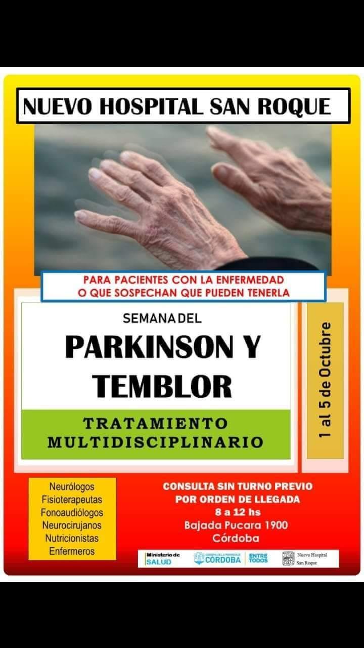 SEMANA DE PARKINSON y TEMBLOR