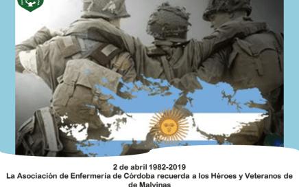 AEC Recuerda a los Héroes y Veteranos de Malvinas