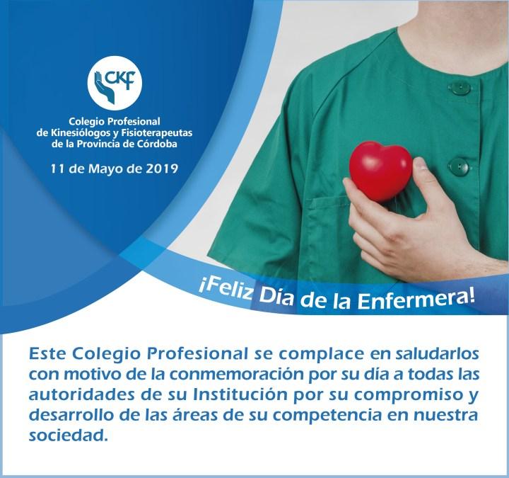 Saludos recibidos por el Día Internacional de la Enfermería 2