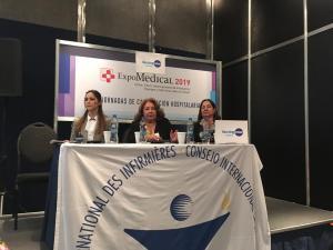 AEC EN LA 24ª JORNADA FEDERAL DE ENFERMERÍA - 27 de septiembre de 2019 en Centro Costa Salguero 13