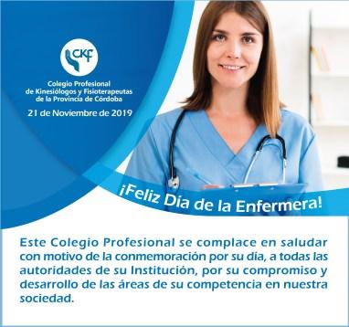 Saludos por el Día de la Enfermería - 21 de noviembre de 2019 1