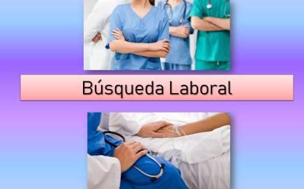 Búsqueda laborales - Personal de Enfermería
