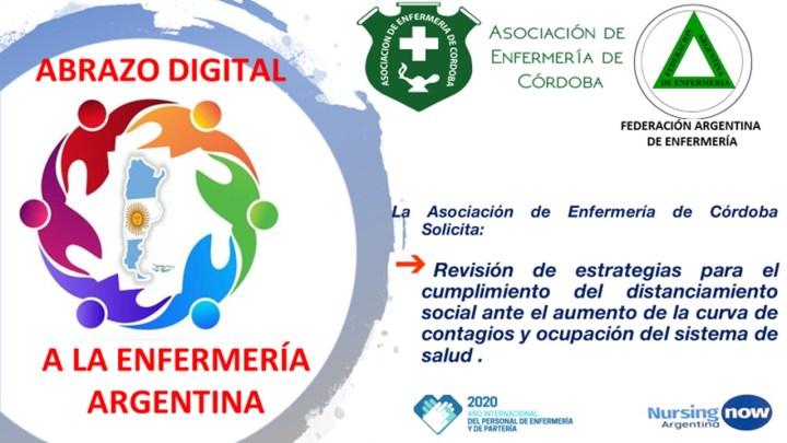 Federación Argentina de Enfermería: Abrazo digital a Enfermería 2