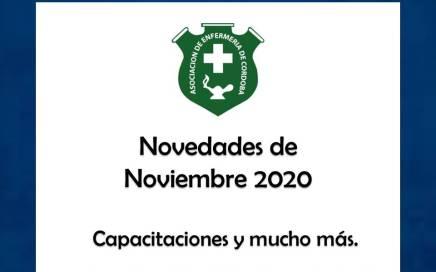 Noticias del mes de Noviembre 2020