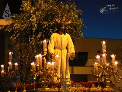 Jesús de la Humildad Horario: 20:00 con salida de Capilla Beato Spínola
