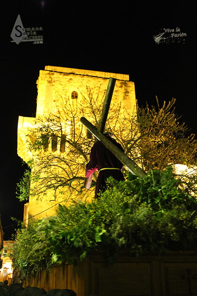 Cristo del Amparo Horario: 23:00 con salida de Ermita del Amparo y llegada a Iglesia San Mateo