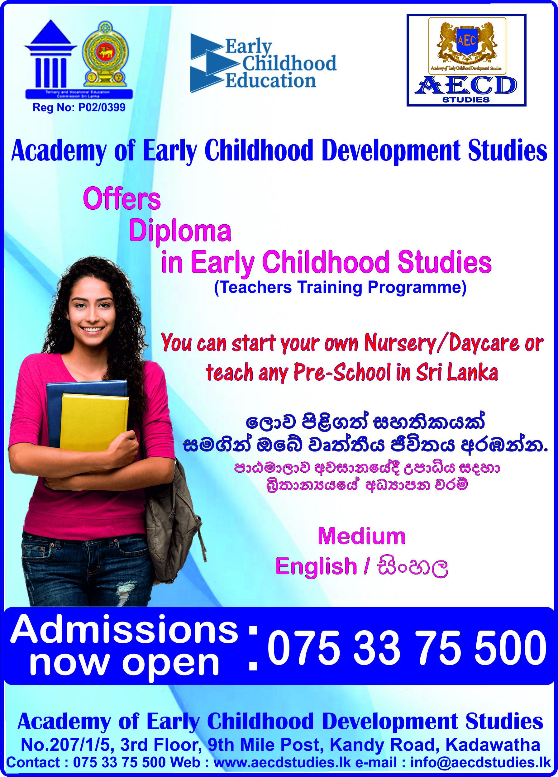 Academy Of Early Childhood Development Studies