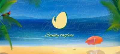 Sunny Beach Logo Opener