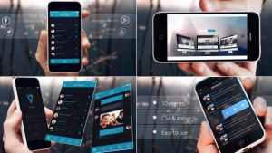 Elegant Phone App Promo