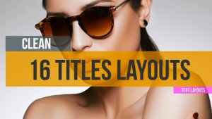 16 Minimal Titles