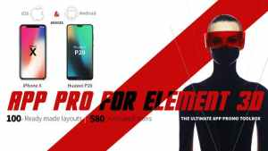App Pro for Element 3D