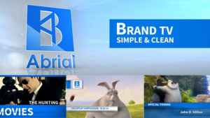 Brand TV Simple & Clean