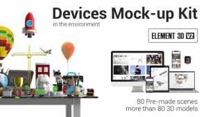 Devices Mock-up Kit in Environment