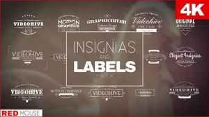 Insignias And Labels Pack