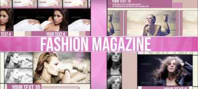 Fashion Magazine (Dynamic Slideshow)