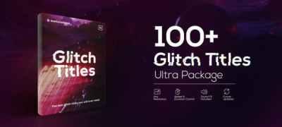 Glitch Titles Pack