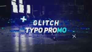 Glitch Typo Promo
