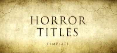 Horror Movie Titles