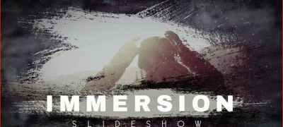 Immersion Artistic Parallax Slideshow