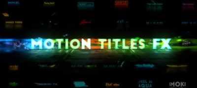 Motion Titles FX